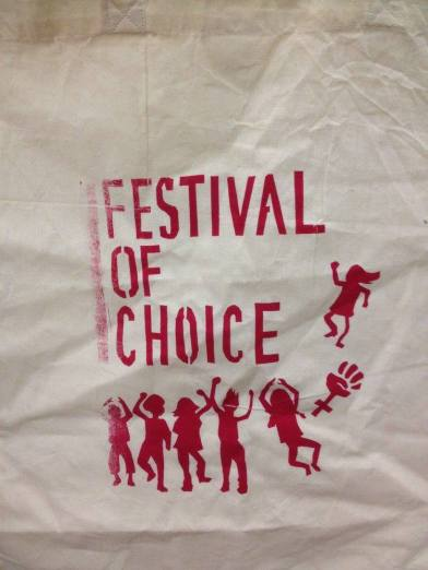 Festival Tote-bag, by Alborada London