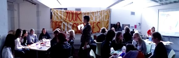 Workshop 15M London Women's Assembly, by Eloísa C.