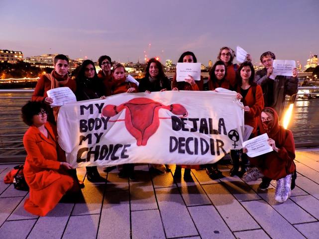 2015 Déjala Decidir protest