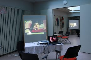 Video and textiles exhibition, by Magda Fabianczyk