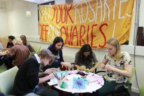 Workshop 15M London Women's Assembly, by Magda Fabianczyk