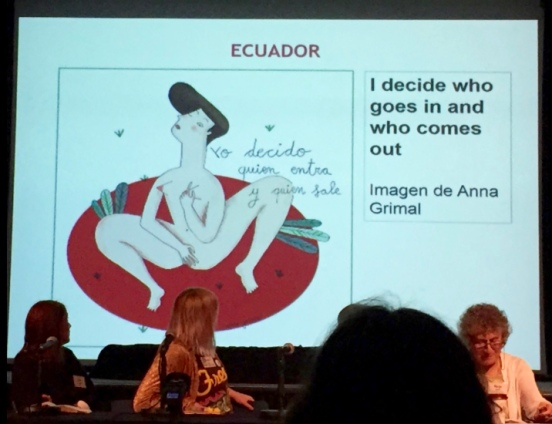 Panel 1 Ecuador, by @katie_northcott via Twitter