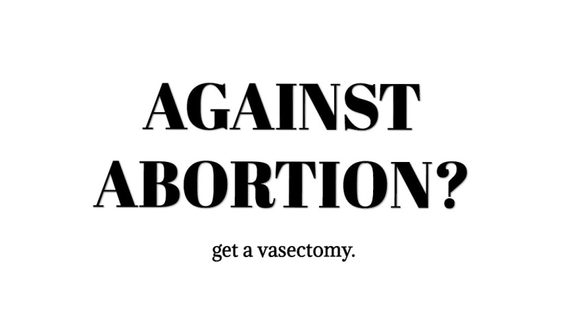 against abortion?